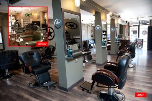 Plan B Headquarters Kelowna Hair Salon Interior