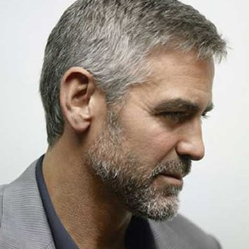Kelowna Hair Salon - Plan B - George Clooney hairstyle