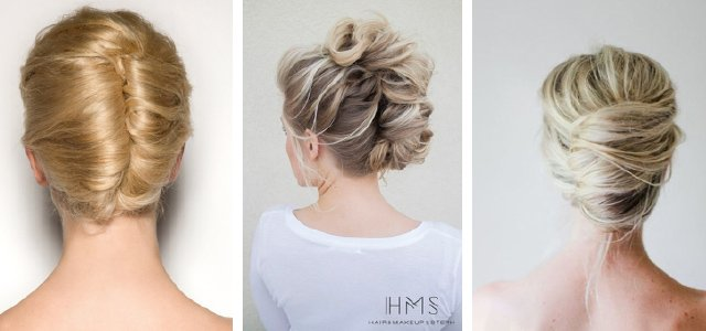 Wedding hair ideas: French Twist