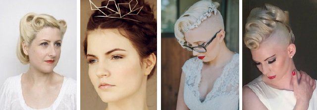 Wedding hair ideas: haute couture styles