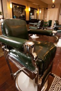 Plan B Barbershop Kelowna | Our original barber chairs